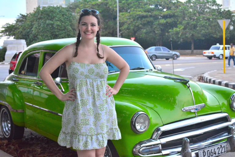 It's best if one can coordinate the car with the dress