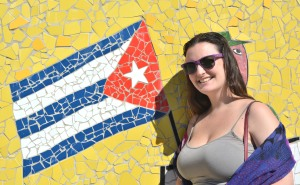 Showing off my Cuban spirit in Havana