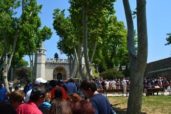 Ticket Line at Topkapi Palace