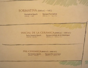 Peru timeline
