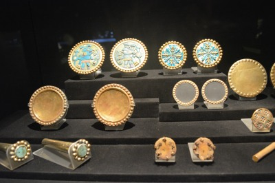 Incan ear gauges